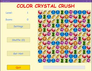 Color Crystal Crush mockup