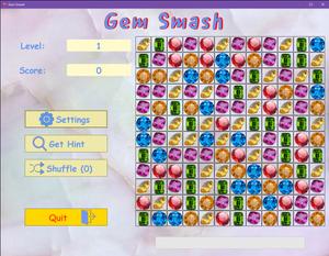 Revised UI for Gem Smash