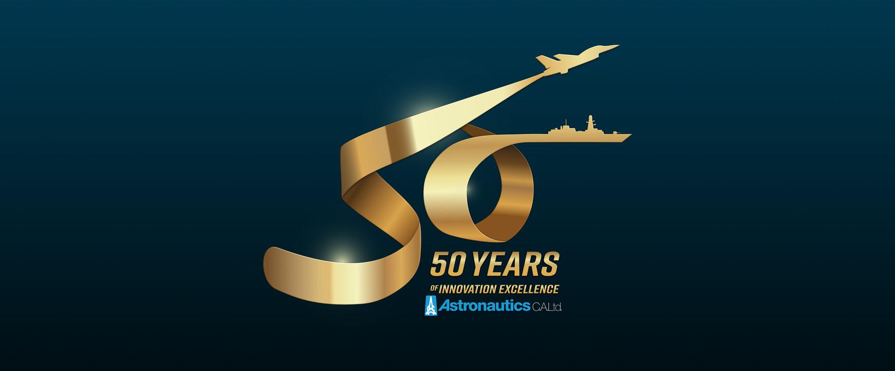 Astronautics - 50th Anniversary LOGO - S