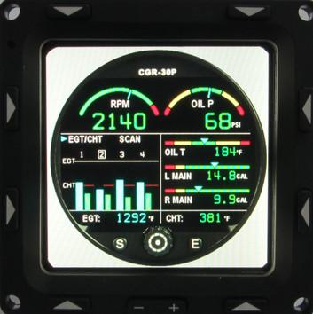 3 Inch Engine Display