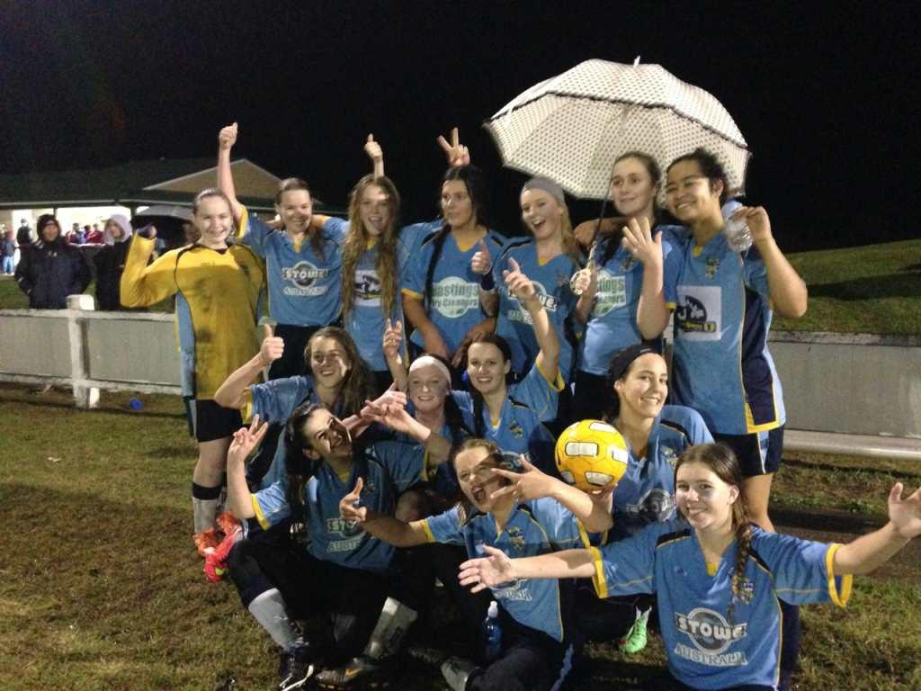 U16 Adders Prelim Final Winners