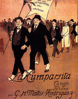 "La Cumparsita – ""the little parade"""