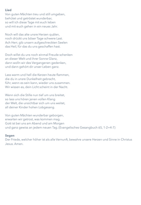 Morgenandacht IV