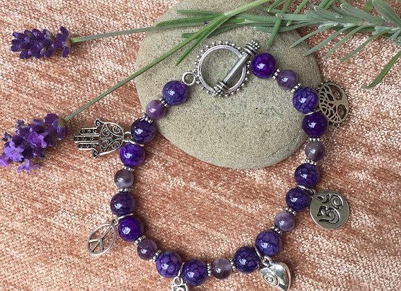 Amethyst Oneness Bracelet