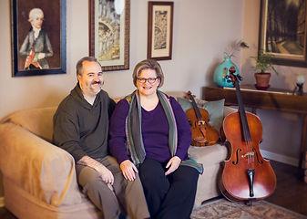 Monty Carter, violin, viola, Trilla Ray-Carter, cello, Wedding Music, Carray Music Services