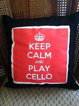 Keep Calm and Play Cello, Cello Instruction, Trilla Ray-Carter