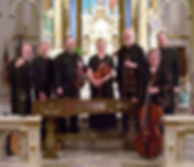 Trilla Ray-Carter, Baroque cello, Monty Carter, Baroque violin, Kansas City Baroque Consortium, Our Lady Of Sorrows