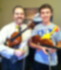 Monty Carter, violin, viola, instruction, rubber chicken, mascot