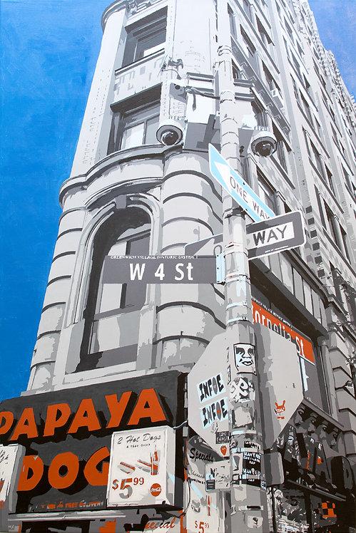 Corner of Cornelia and 6th Avenue