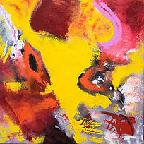 Wild Thing- Painting on canvas, ready to