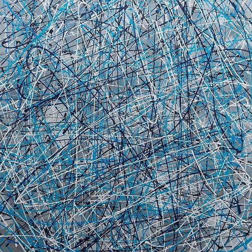 Blue Breeze - 80 x 80cm