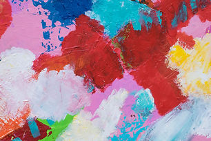 The Primary Element -Abstract painting o