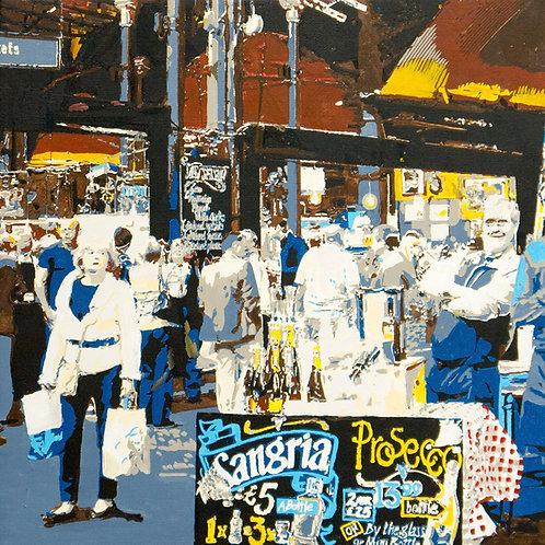 Borough Market - The wine merchant