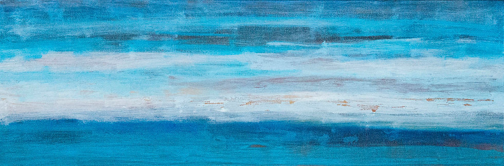When Skies are Blue - 40cm x 120cm