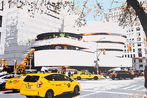The hustle and bustle of Manhattan 2 - The Guggenheim