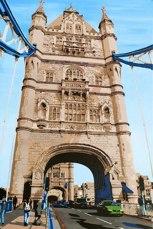 Tower Bridge, south bank gateway