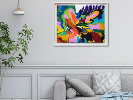 Choosing a frame for your artwork
