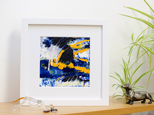 Music of the sea - Framed. Ready to hang.