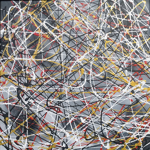 Another Day - Painting by Kris Mercer Painting on Canvas board. One of a kind artwork. Size: 40cm x 40cm