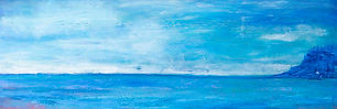 As the Mist Rises -Abstract painting on