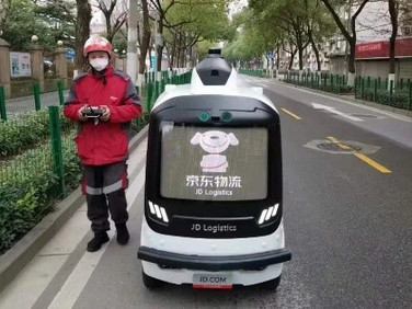 China Ecommerce Companies Deploy Delivery Robots Amid Virus Outbreak