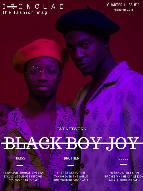 BLACK BOY JOY - Issue.1