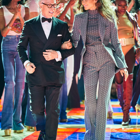 Tommy Hilfiger x Zendaya Spring Ready-to-Wear Collection pays homage to the black style of the 70's