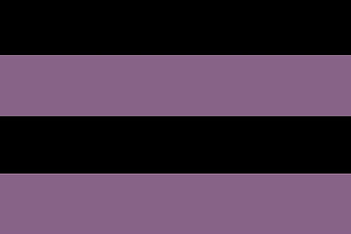 SMALL SQUARE BLACK ROWS HORIZONTAL ETERNITY