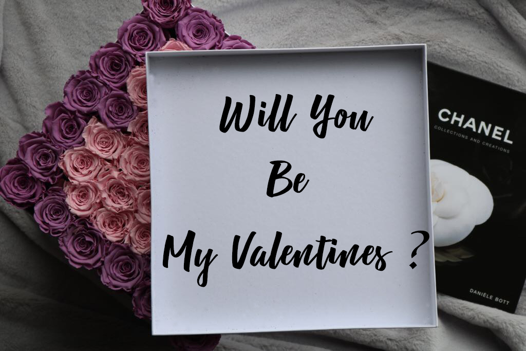 will you be my valentines