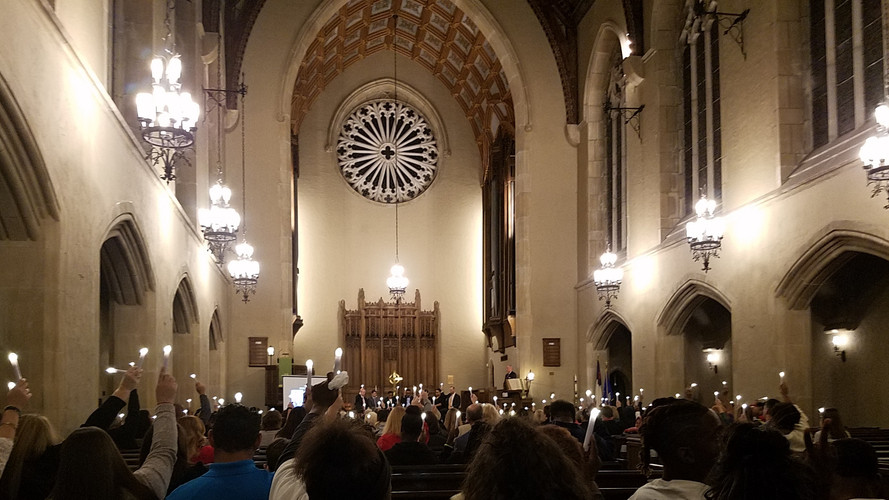 23rd Annual Homicide Memorial Service at First Presbyterian Church in Wilmington, November 16, 2018