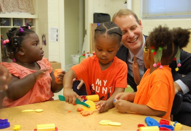 Mosley Performance Learning Center pre-K opening (photo by Cammie Bellamy/StarNews)