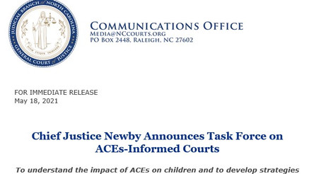 Ben David Named Co-Chair of Task Force on ACEs-Informed Courts