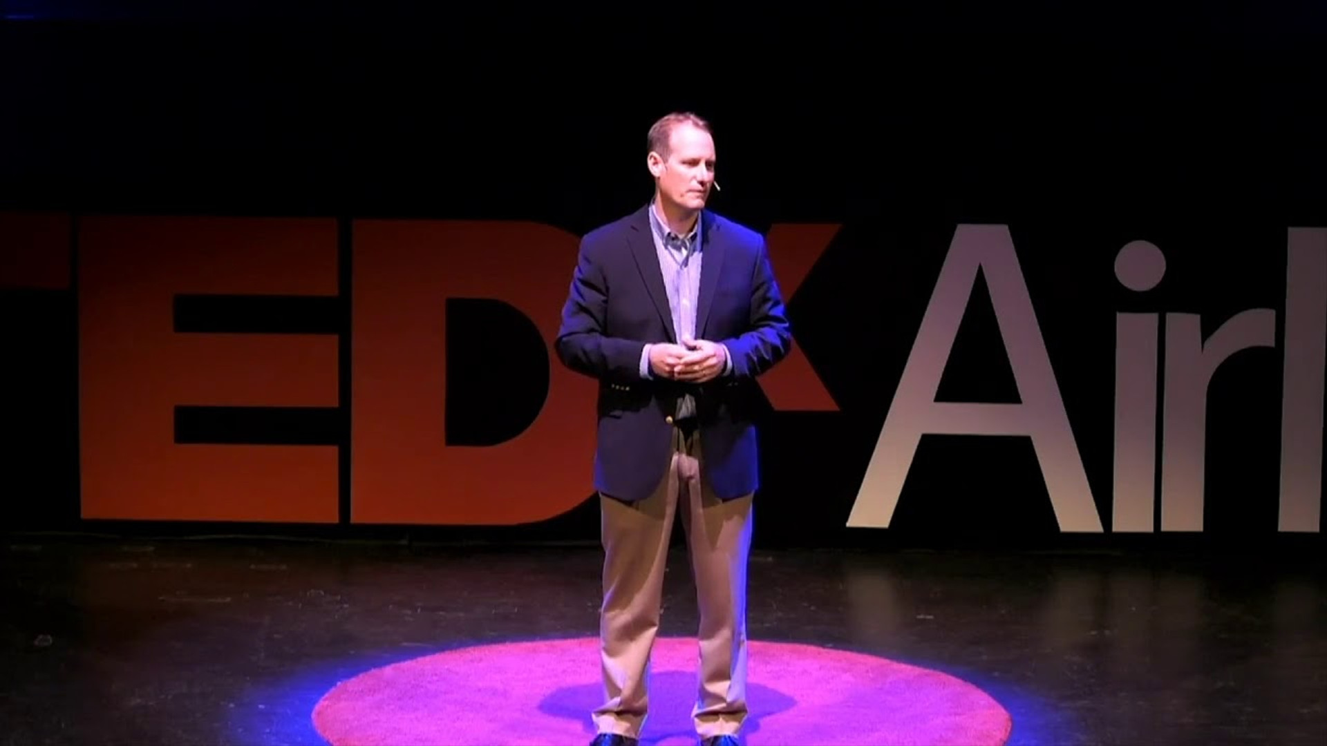Ben David at TedxAirlie - March 29, 2019