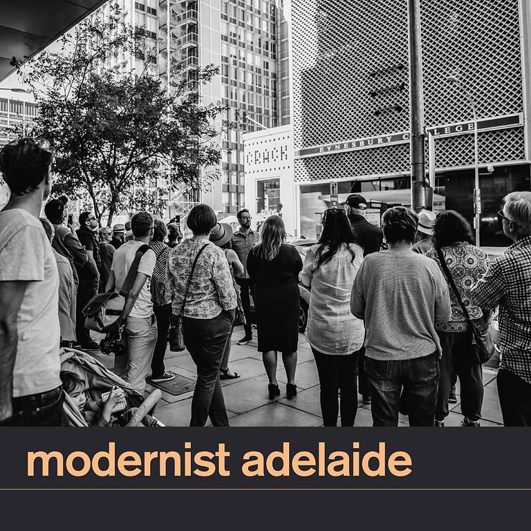 Modernist Adelaide Walking Tour