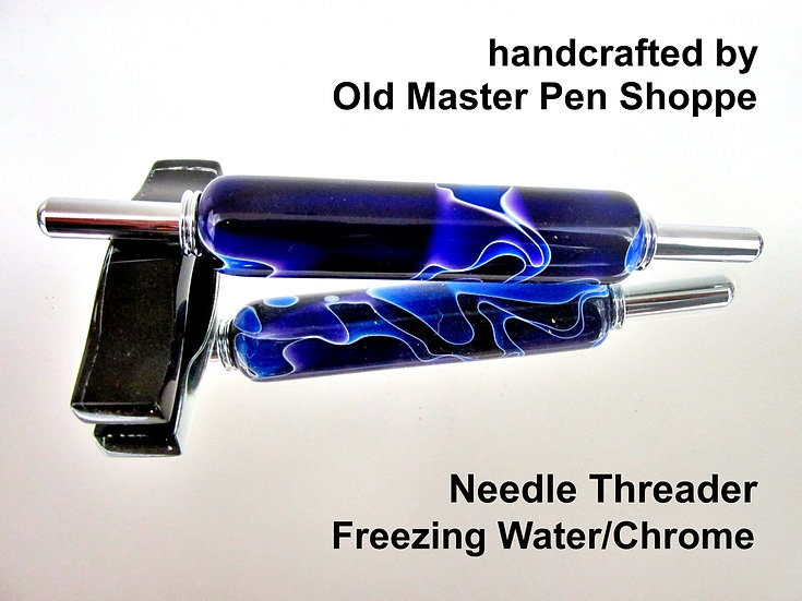 Handmade Freezing Water Needle Threader With Chrome Plating