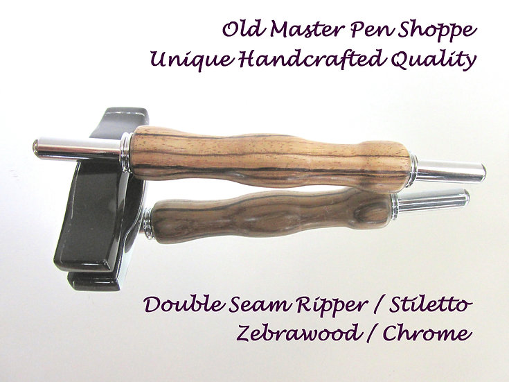 Zebrawood with Chrome Plating