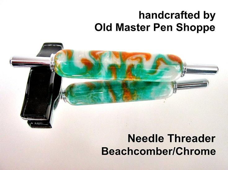Handmade Beachcomber Needle Threader With Chrome Plating
