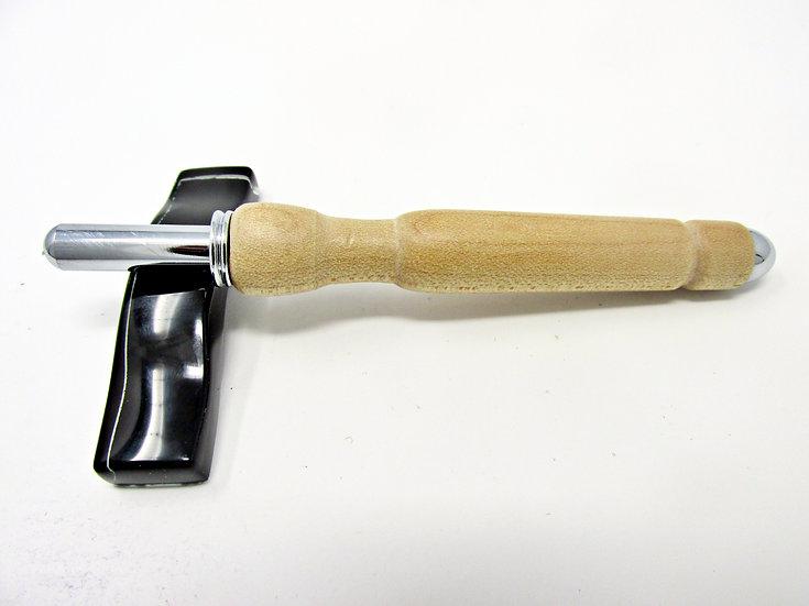 Handmade Hard Maple Seam Ripper or Stiletto with Chrome Plating