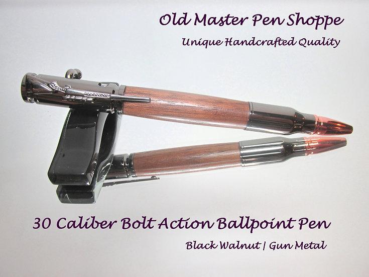 Black Walnut with Gun Metal Plating
