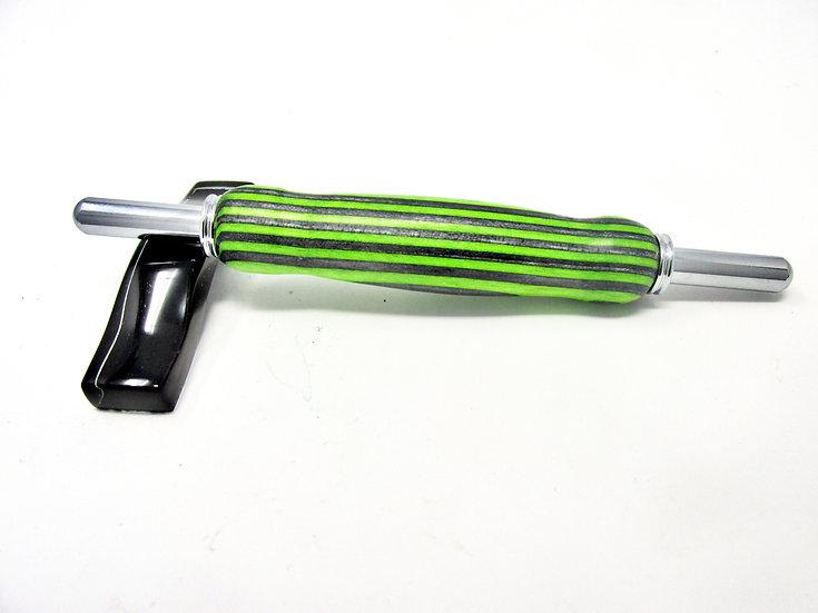 Handmade Flowerwood 14 Double Seam Ripper/Stiletto with Chrome Plating
