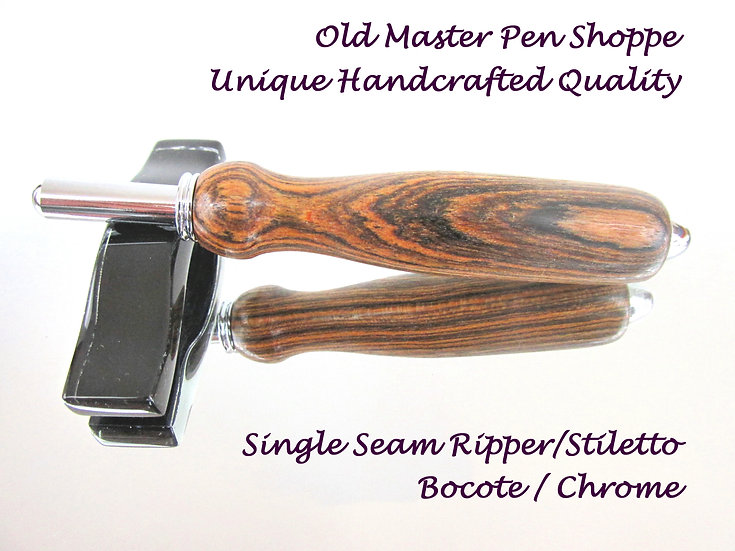 Bocote with Chrome Plating