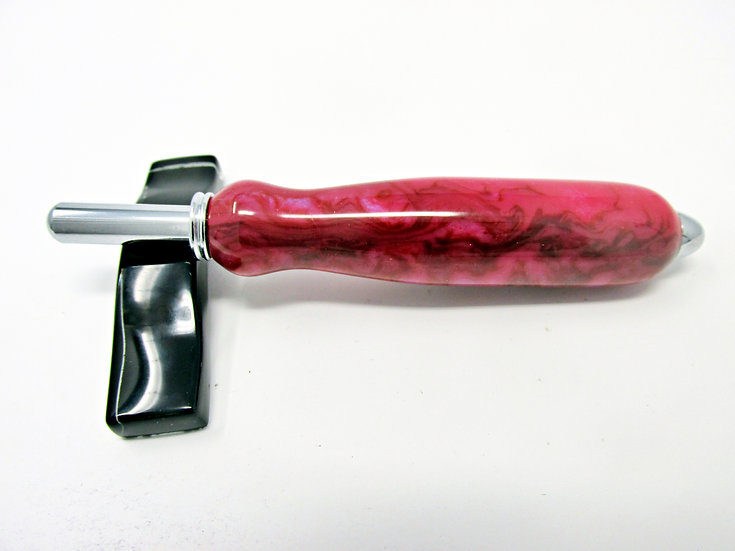 Handmade Cherries Jubilee Seam Ripper or Stiletto with Chrome Plating