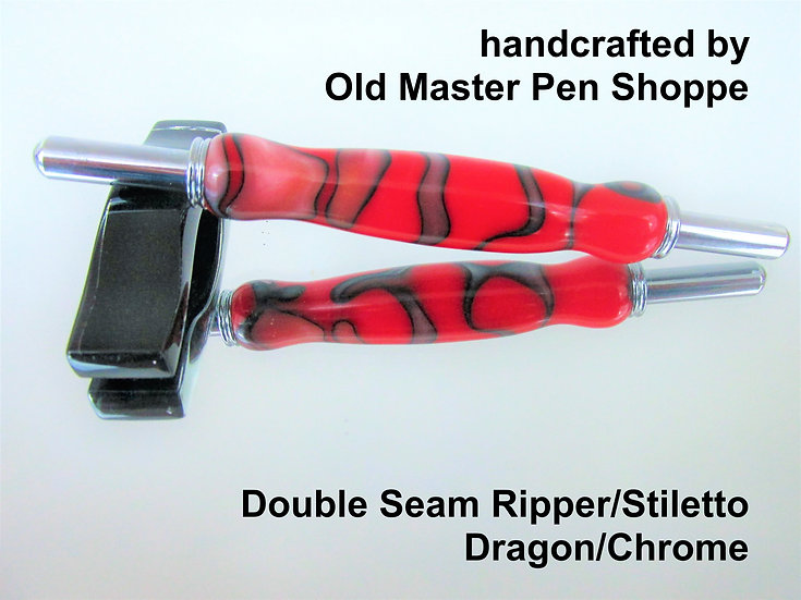 Handmade Dragon Seam Ripper/Stiletto with Chrome Plating