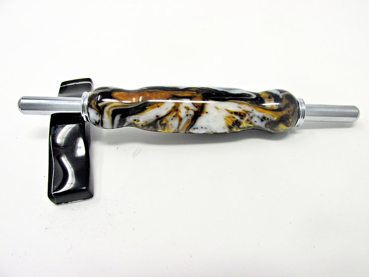Handmade Renaissance Double Seam Ripper/Stiletto with Chrome Plating