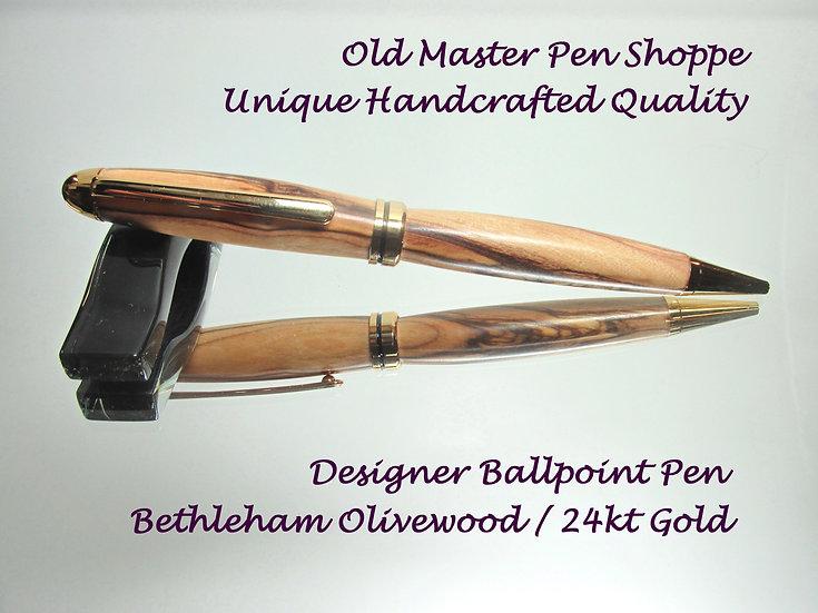 Bethlehem Olivewood With 24KT Gold Plating