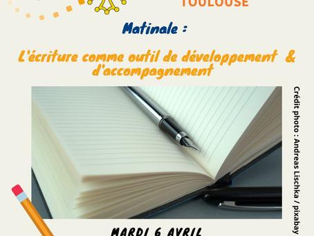 Matinale EMCC : l'écriture comme outil de développement et d'accompagnement