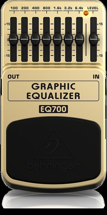 Behringer : EQ700 Graphic Equalizer 7-Band EQ