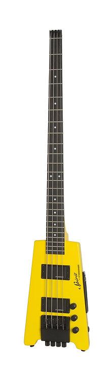 Spirit XT-2-HY - Hot Yellow - Steinberger