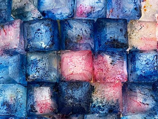 Mit Eis färben - Ice Dye Technik