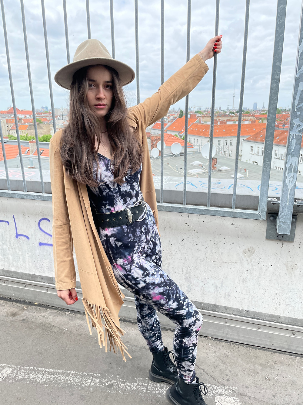 Tinalicious Festival Outfit - Tie Dye Catsuit